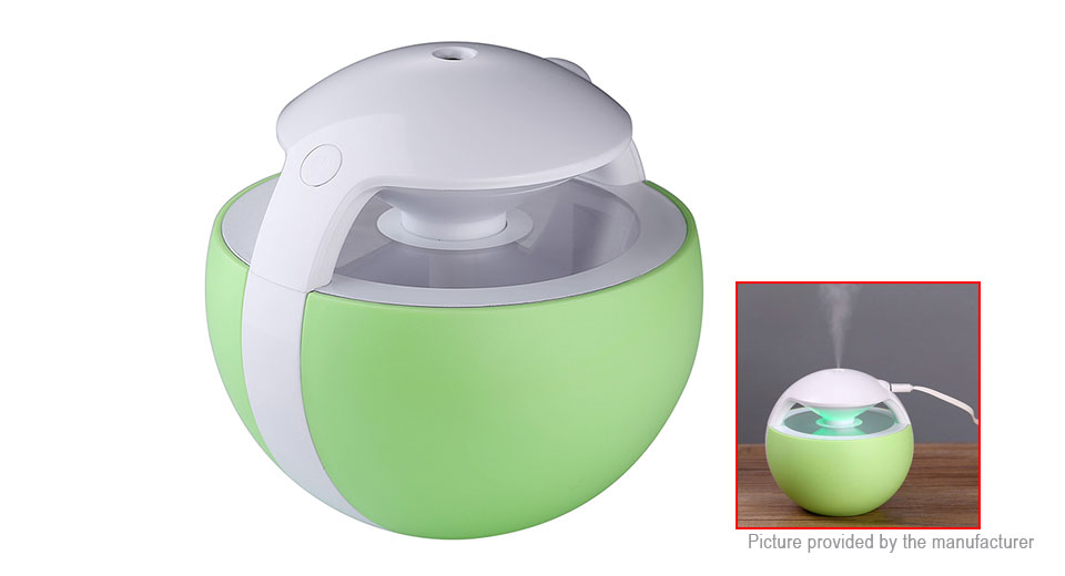 Mini USB Humidifier Aroma Diffuser Air Purifier LED Night Light