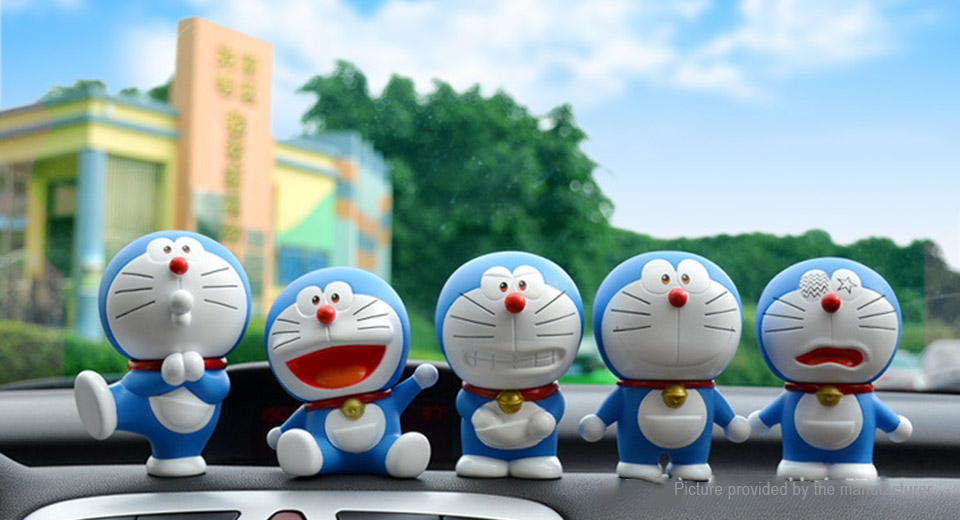 Doraemon Styled Action Figure Doll Toy
