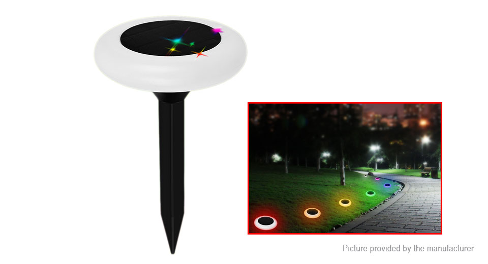 Solar Powered LED Garden Lawn Decorative Light