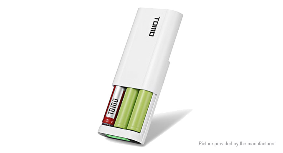 Authentic TOMO T3 DIY 3*18650 Li-ion Battery Smart Power Charger