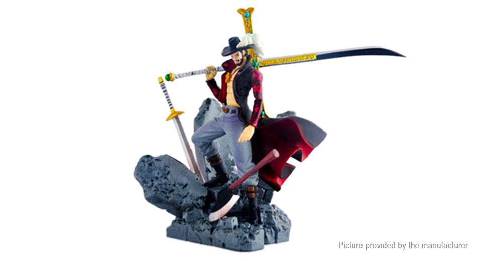 One Piece Dracule Mihawk Action Figure Doll Toy