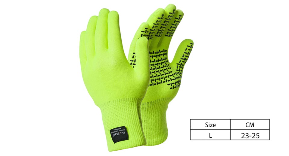 Authentic DexShell Outdoor Sports Breathable Full-finger Gloves (Size L)