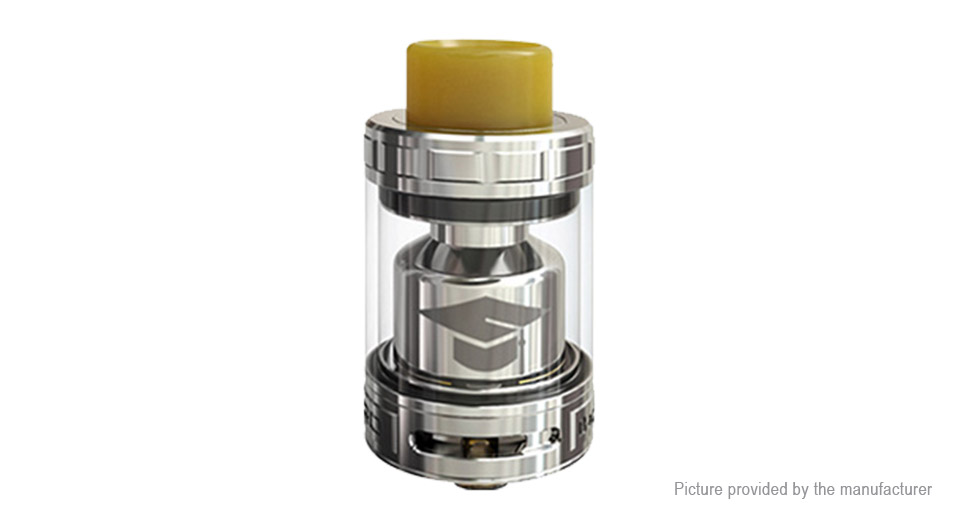 Authentic EHpro Bachelor X RTA Rebuildable Tank Atomizer Bachelor X, SS + Glass, Silver