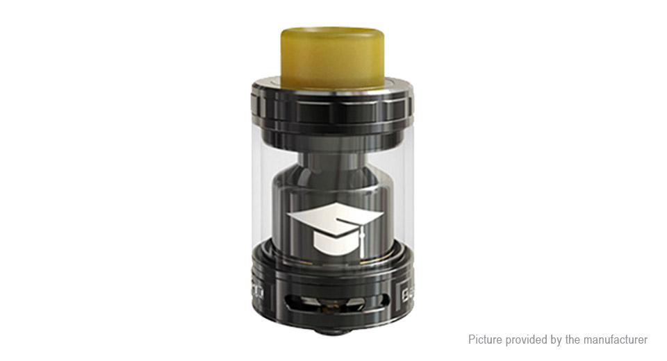 Authentic EHpro Bachelor X RTA Rebuildable Tank Atomizer Bachelor X, SS + Glass, Black