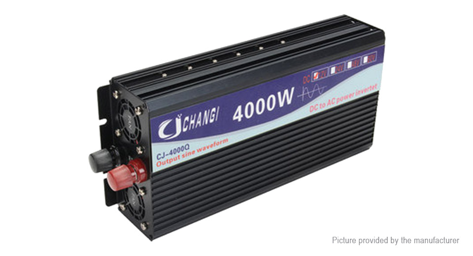 Product Image: changi-car-4000w-dc-24v-to-ac-220v-pure-sine-wave