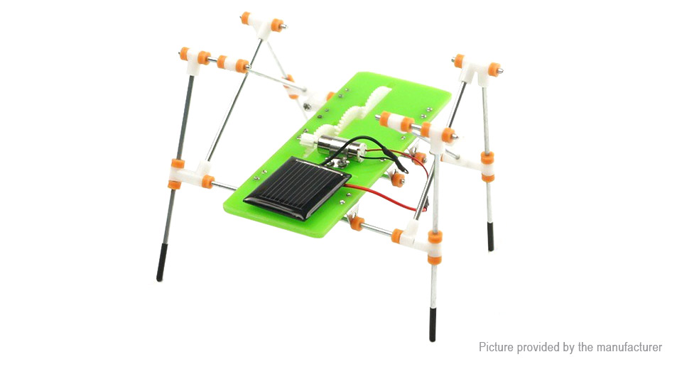 99d3156b6d Solar TY861637A Powered DIY Quadruped Robot Educational Kid Toy D71E0BFB280  Computer Hardware