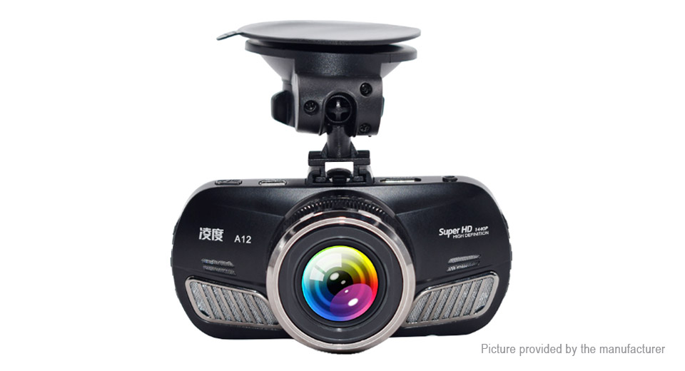 A12 2.7 LCD HD 1440p Car DVR Camcorder Night Vision Video Recorder