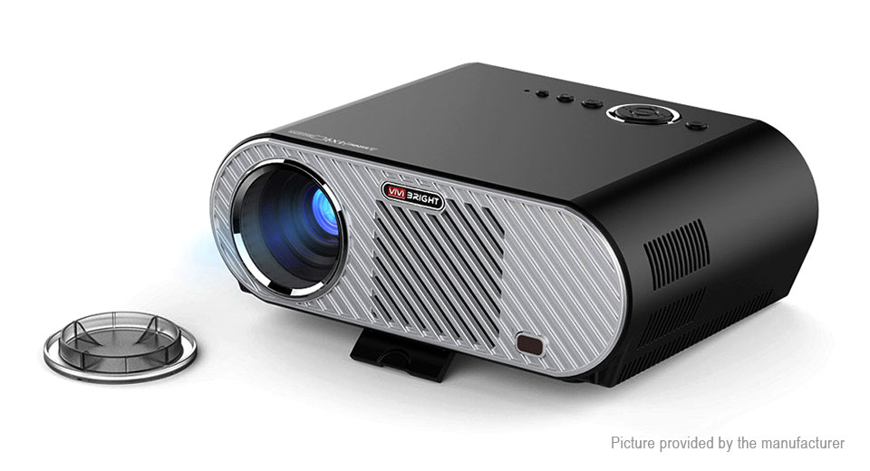 ViviBright GP90UP LED Projector Home Theater (US)
