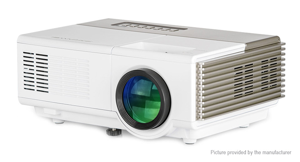 Caiwei A3 Portable LED Projector Home Theater (UK)