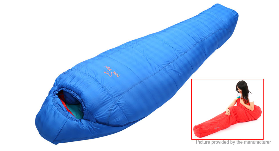 TrackMan Outdoor Hiking Camping Stitching Ultralight Sleeping Bag