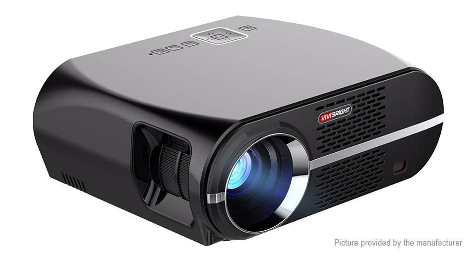 ViviBright GP100 LED Projector Home Theater (US)