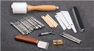 Buy DIY Leather Craft Carving Sculpture Hammer Stamping Tool Set (40 Pieces) for $50.96 in Fasttech store
