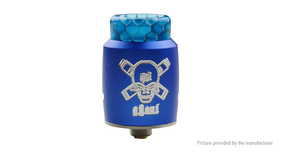 Blitz Ghoul BF RDA Rebuildable Dripping Atomizer Blitz Ghoul, SS, Blue