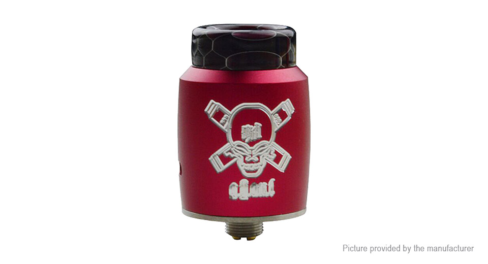 Blitz Ghoul BF RDA Rebuildable Dripping Atomizer Blitz Ghoul, SS, Fuchsia