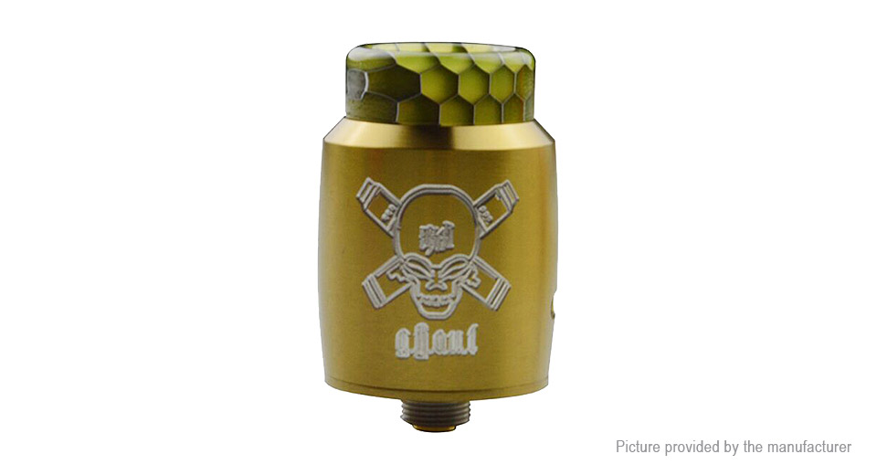 Blitz Ghoul BF RDA Rebuildable Dripping Atomizer Blitz Ghoul, SS, Gold