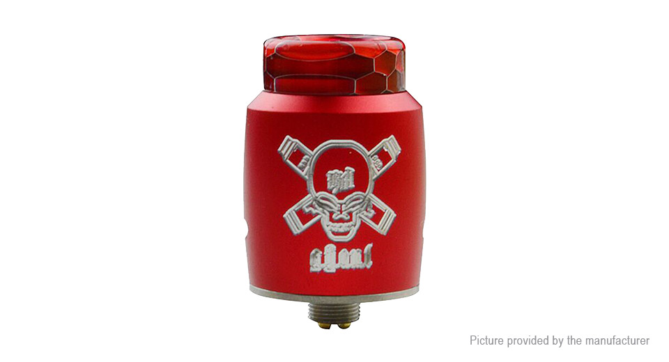 Blitz Ghoul BF RDA Rebuildable Dripping Atomizer Blitz Ghoul, SS, Red