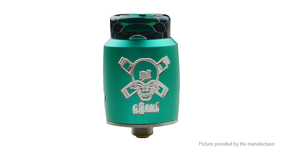 Blitz Ghoul BF RDA Rebuildable Dripping Atomizer Blitz Ghoul, SS, Green