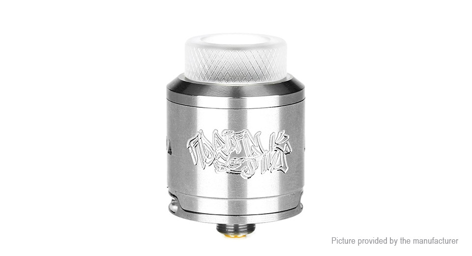 Authentic DEJAVU RDA Rebuildable Dripping Atomizer 25mm, SS, SS color