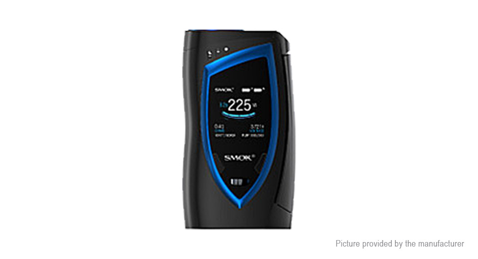 Authentic Smoktech SMOK Devilkin 225W TC VW APV Box Mod Devilkin 225W VW/TC Mod, Black Blue