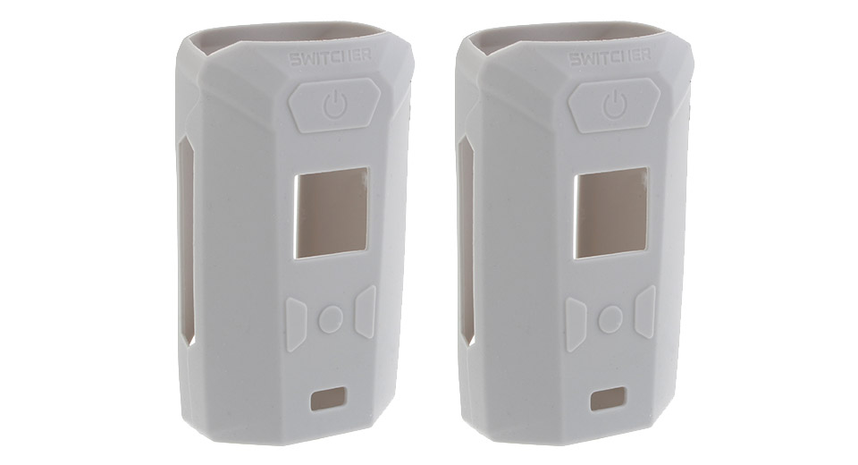 Protective Silicone Sleeve Case for Vaporesso Switcher 220W Mod (2-Pack) Grey, 2-Pack