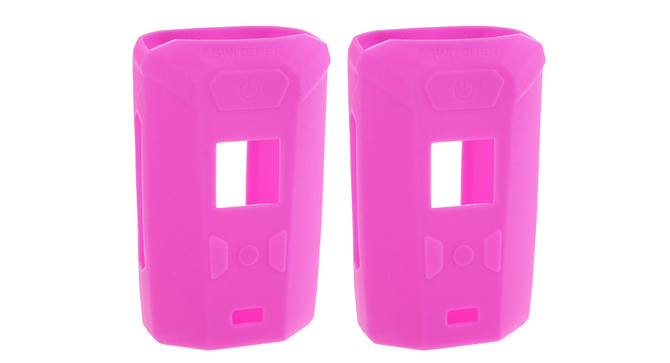Protective Silicone Sleeve Case for Vaporesso Switcher 220W Mod (2-Pack) Purple, 2-Pack