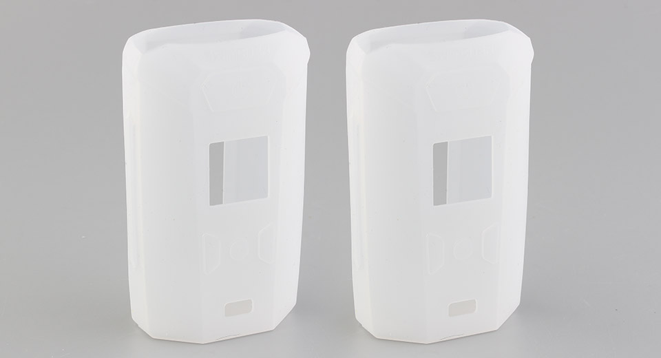 Protective Silicone Sleeve Case for Vaporesso Switcher 220W Mod (2-Pack) Translucent, 2-Pack