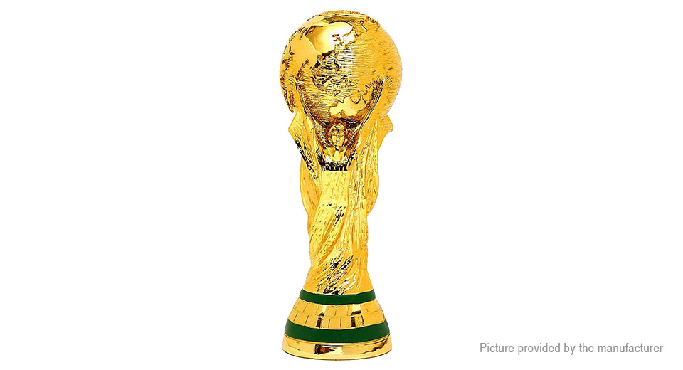 Apple Cup Trophy >> $13.20 2018 FIFA World Cup Trophy Model Soccer Championship Souvenir - 21cm height / precise ...
