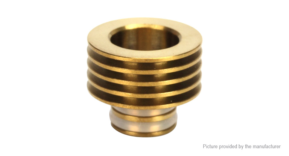 Coil Father Stainless Steel Heat Dissipation Sink for 510 Drip Tip