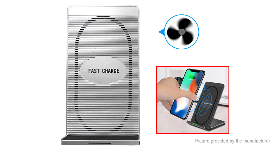 N800 Qi Inductive Wireless Charging Stand Charger Transmitter