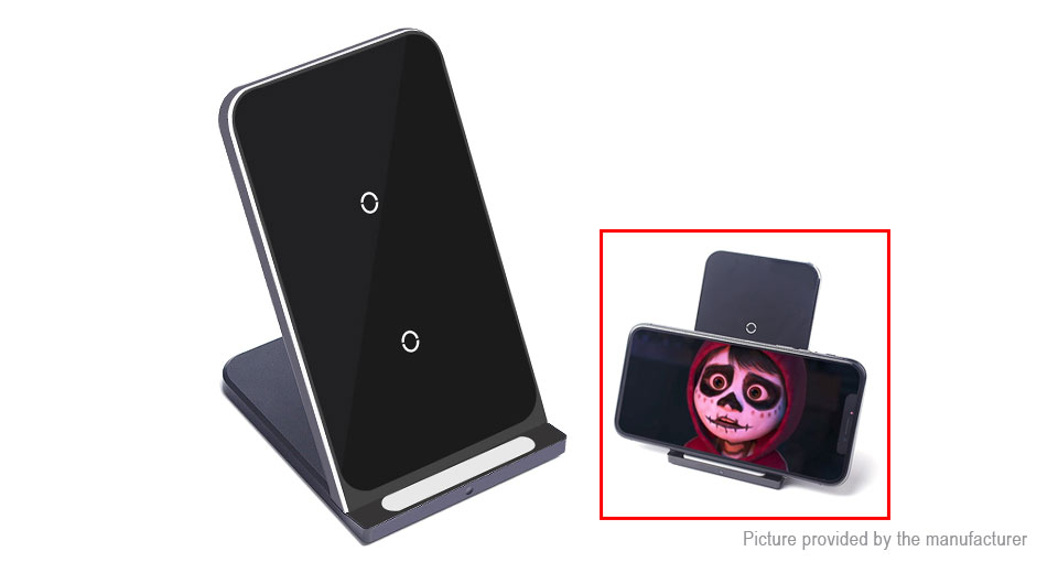ULT-Best Qi Inductive Wireless Charger Stand Holder