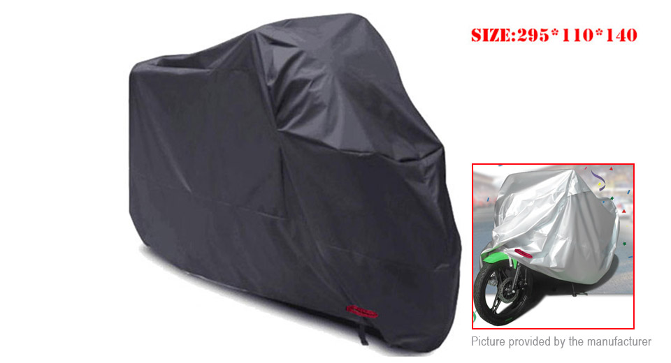Motorcycle Waterproof Protective Rain Cover (Size 3XL)