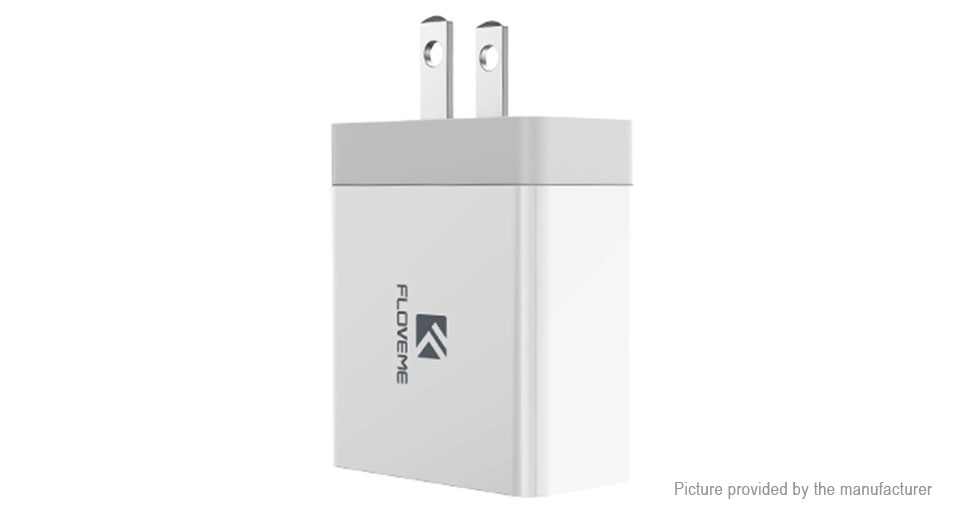 Authentic Floveme Portable Dual USB Wall Charger Power Adapter (US)