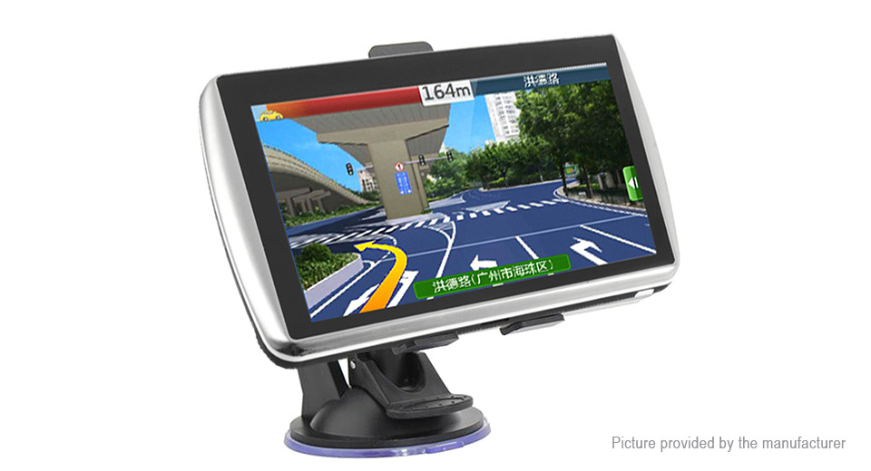 7 TFT Touch Screen Car Auto GPS Navigation