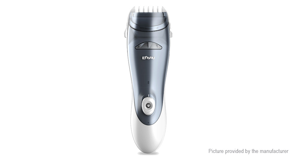 Enssu ES960 Electric Automatic Suction Hair Clipper Trimmer for Baby Kids Adults