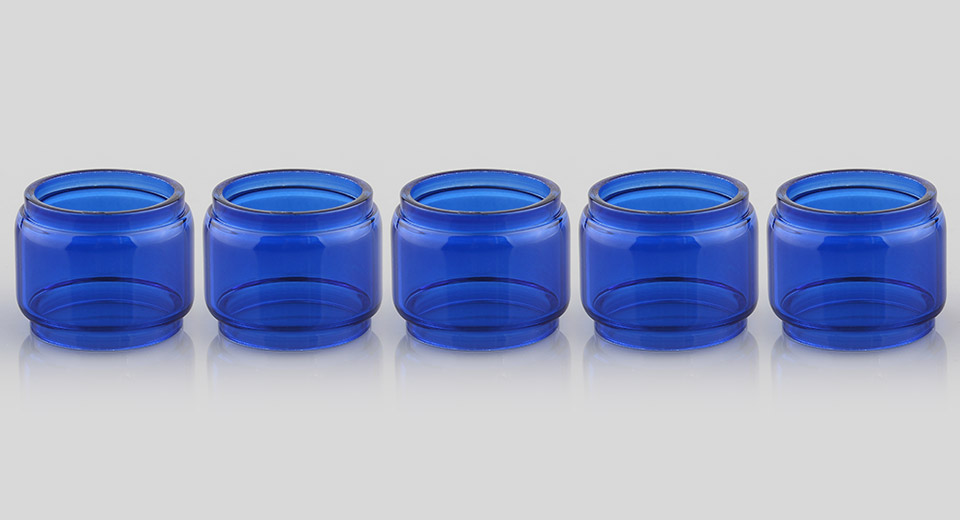Replacement Glass Tank for SMOK TFV8 Baby Clearomizer (5-Pack)