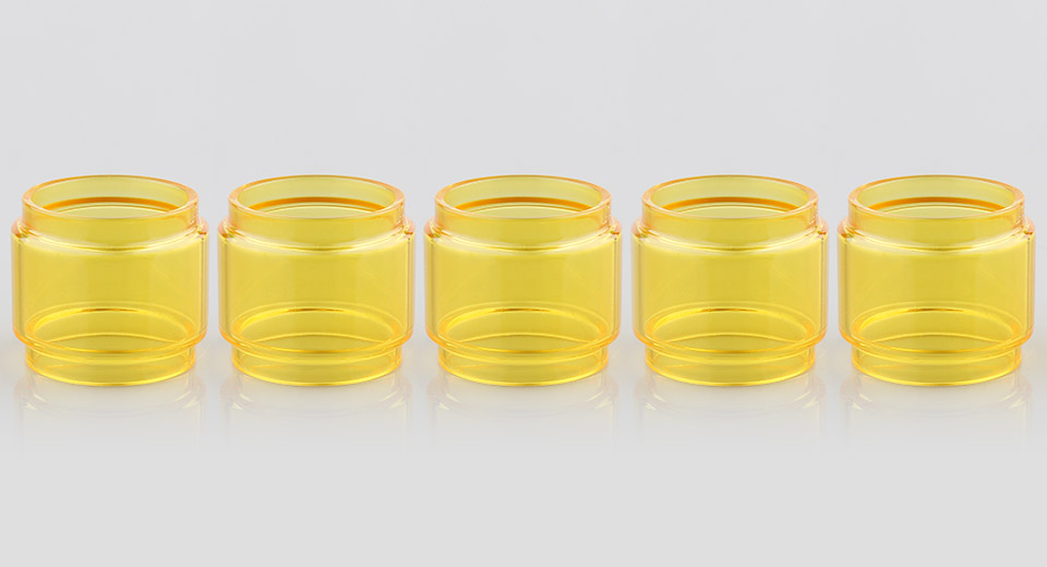Replacement Glass Tank for SMOK TFV12 Prince Clearomizer (5-Pack)