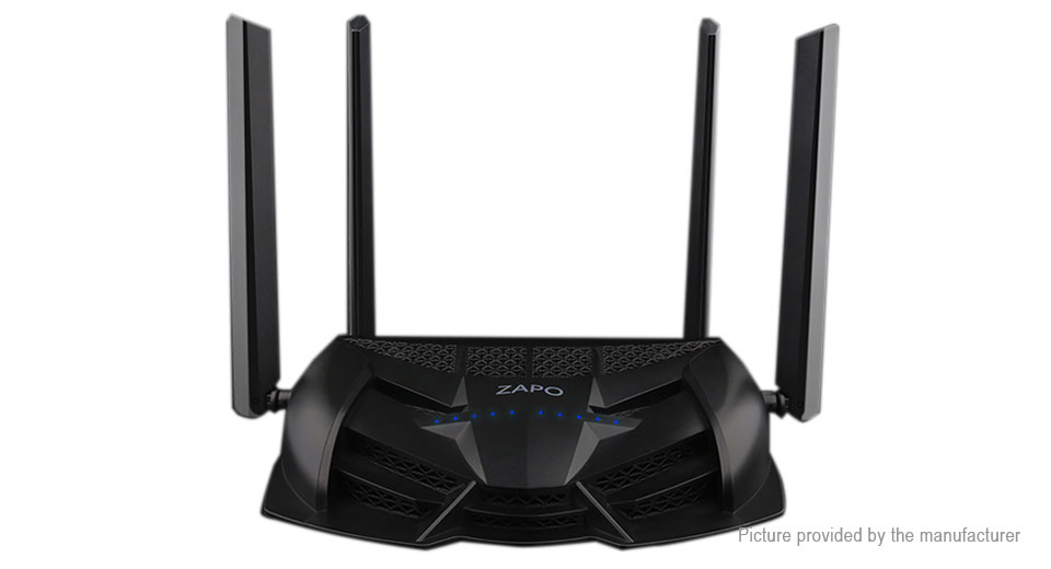 ZAPO Z-1200 1200Mbps Dual Band Wireless Wifi Repeater Router (US)