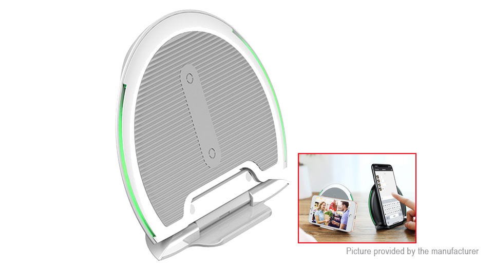 Authentic Baseus Collapsible Qi Inductive Wireless Charger Cell Phone Holder Stand