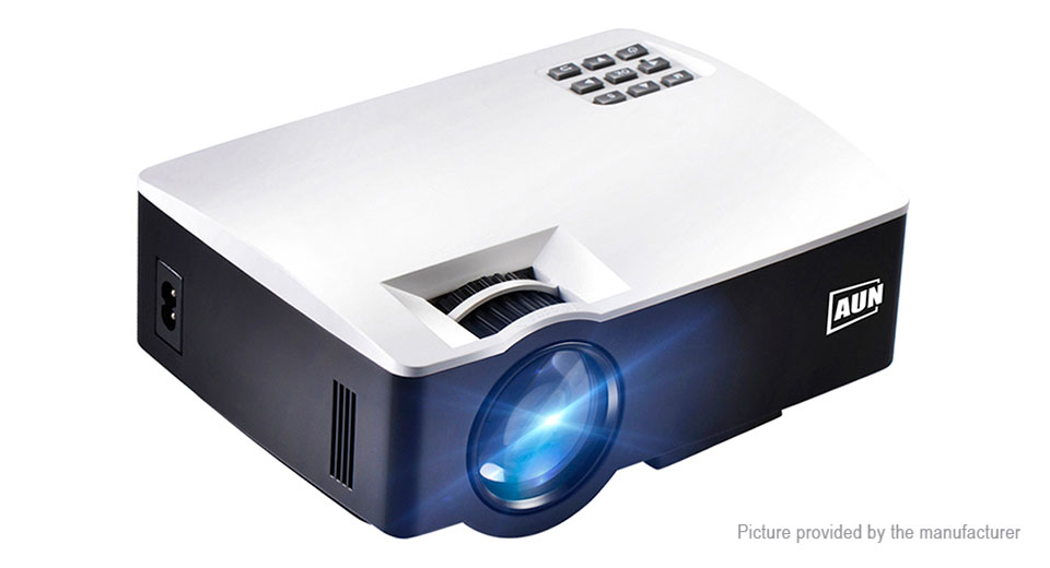 AUN AKEY1 Portable LED Projector Home Theater (US)
