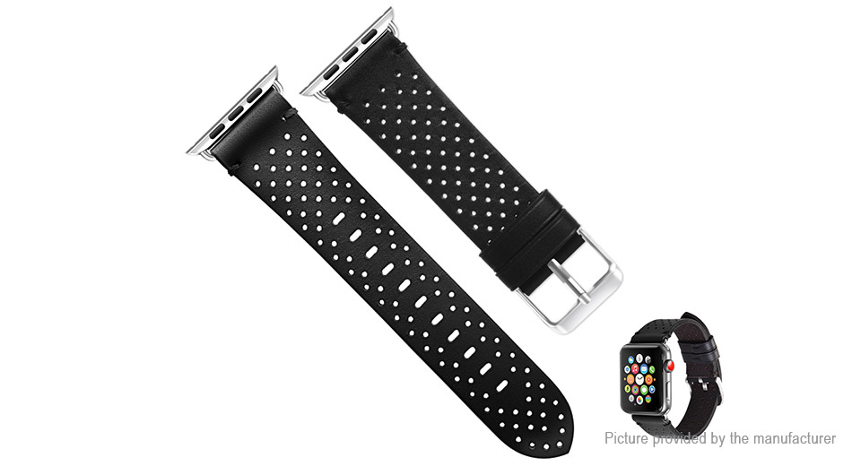 Authentic hoco Replacement Leather Watch Band Strap for Apple Watch 42mm