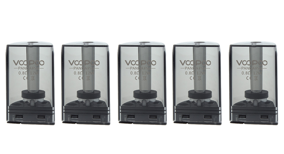 Authentic VOOPOO Panda Replacement Pod Cartridge (5-Pack)