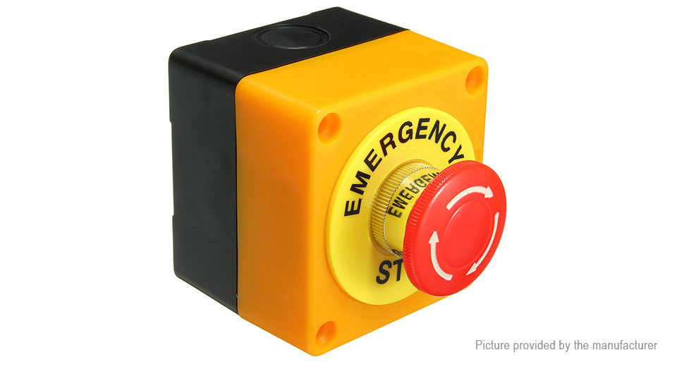 Emergency Stop Push Button Switch for Elevator