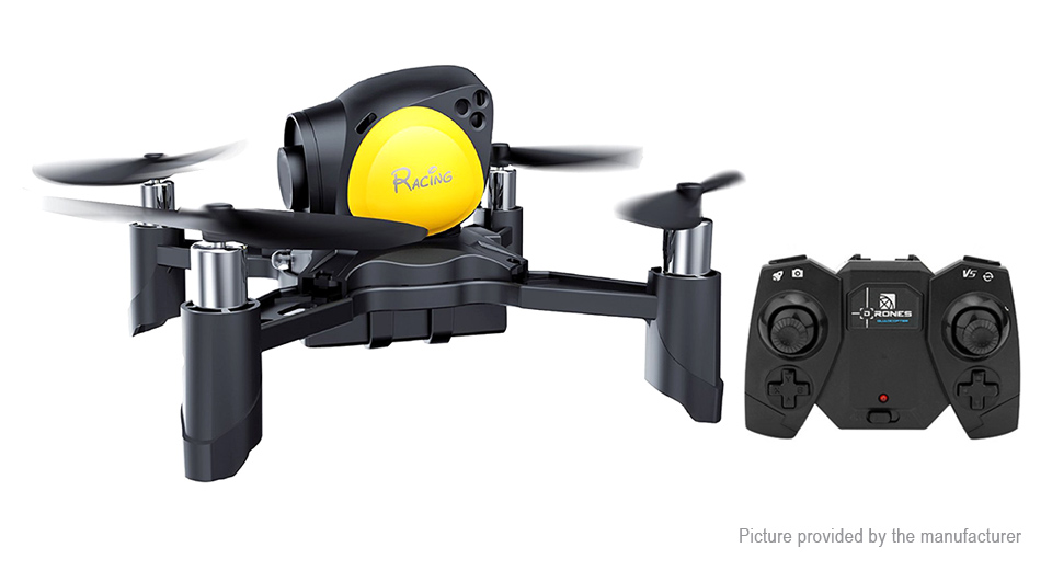 2.4GHz / 4CH / 4-axis gyro / 360 degree flip & roll / headless mode / one key return / altitude hold / mobile App control #drone