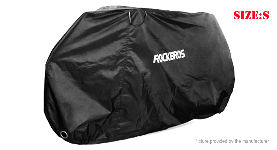 Authentic ROCKBROS Waterproof Motorcycle Bicycle Protective Rain Cover (Size S)