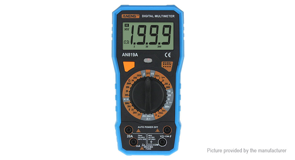 Product Image: aneng-an819a-professional-digital-multimeter