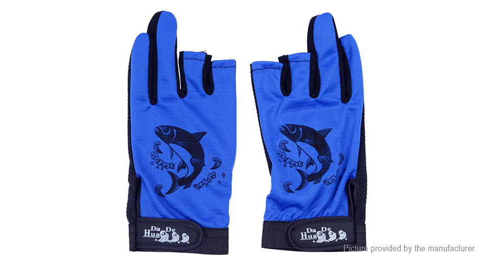 Anti-slip Waterproof Two Fingers Fishing Gloves