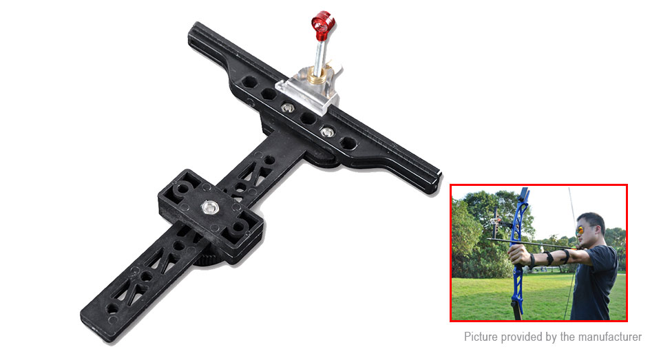 Outdoor Anti-bend Bow T-sight Aim Archery Equipment