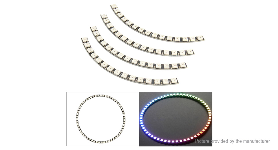 Product Image: cjmcu-ws2812-60-bit-5050-full-color-rgb-led-lamp
