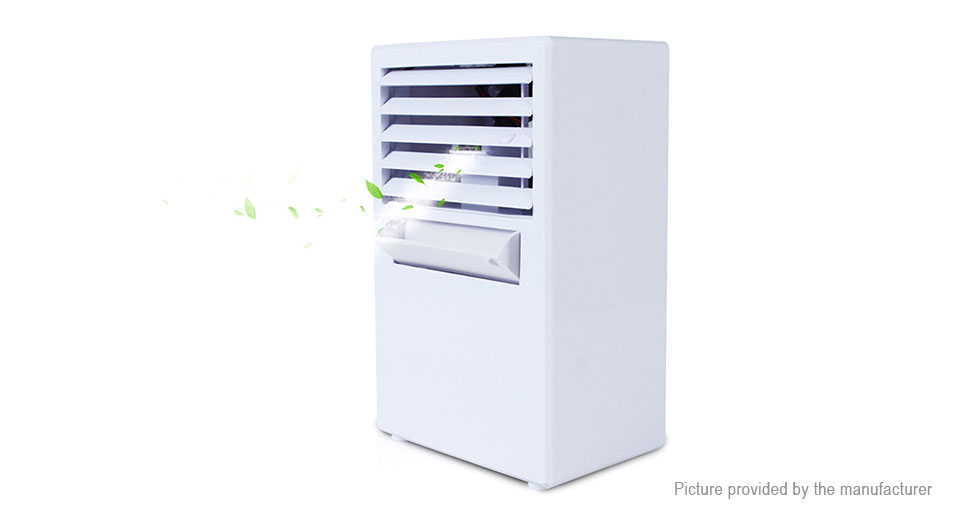 18W Spray Humidifier Air Conditioning Bladeless Fan (EU)