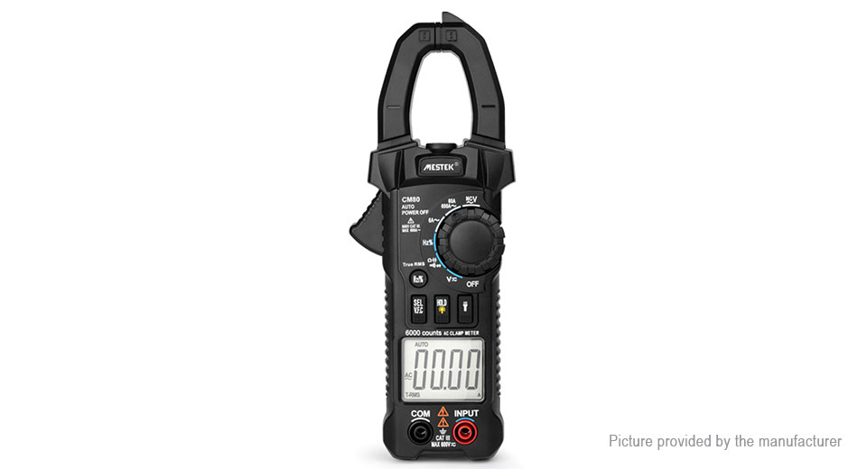 Product Image: mestek-cm81-digital-multimeter-clamp-meter